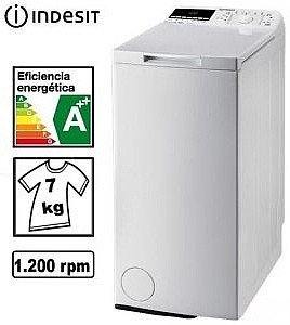 מכונת כביסה פתח עליון Indesit ITWE71252  אינדסיט