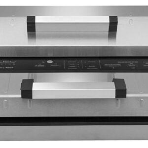 מכונת ואקום מקצועית מנירוסטה אוטומטית לחלוטין CASO FastVAC 4008 קאסו