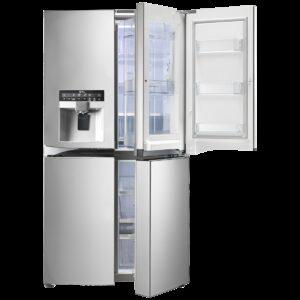 מקרר 4 דלתות 837 ליטר LG Door in Door דגם GR-J910DID אל ג'י