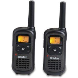 זוג מכשירי קשר ווקי טוקי 8 ערוצים עם סוללות נטענות Uniden PMR-1207