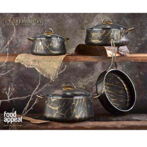 סט 7 חלקים זהב Food Appeal Royal Swan Gold פוד אפיל
