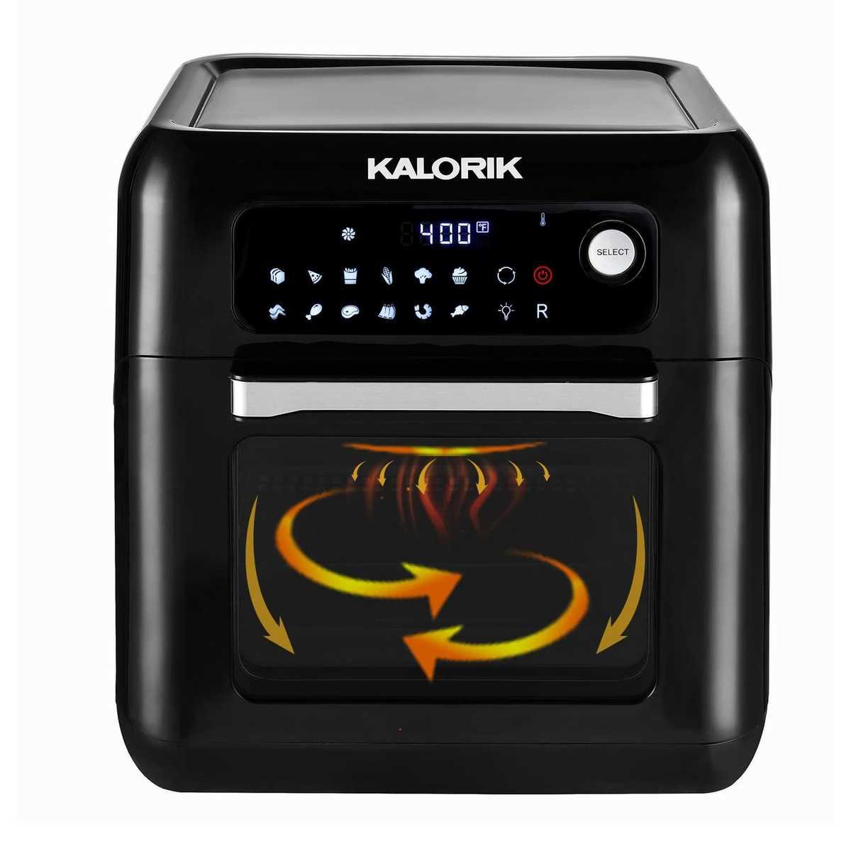 תנור טיגון חכם 44880 KALORIK AIR FRYER OVEN קלוריק
