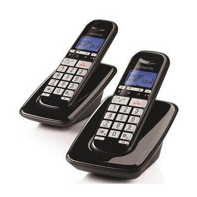 טלפון אלחוטי בעברית עם דיבורית Motorola S3002