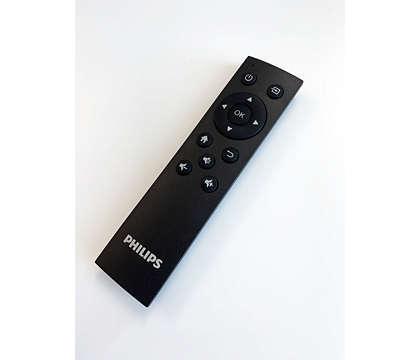 מקרן ביתי Full HD עם WiFi ו- Philips NPX540 NeoPix Prime Bluetooth  פיליפס