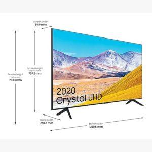 """טלוויזיה 43"""" Samsung UE43TU8000 4K סמסונג"""